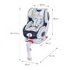 Kép 9/9 - isofix-el szerelhető autós ülés