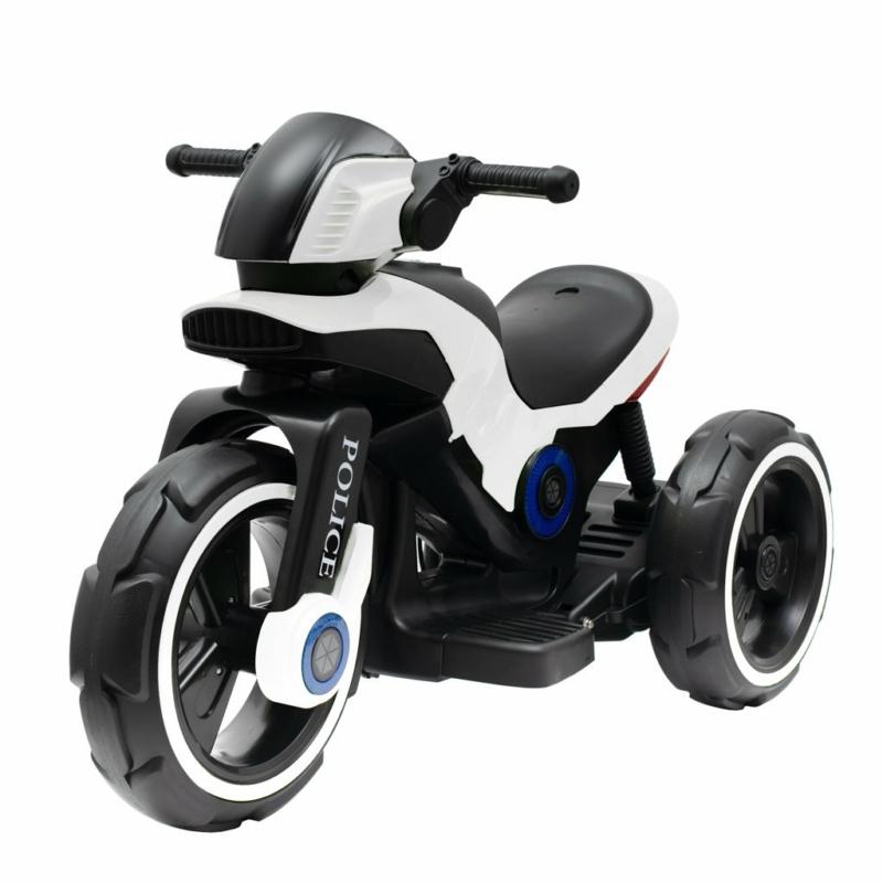 Elektromos motor Baby Mix POLICE fehér
