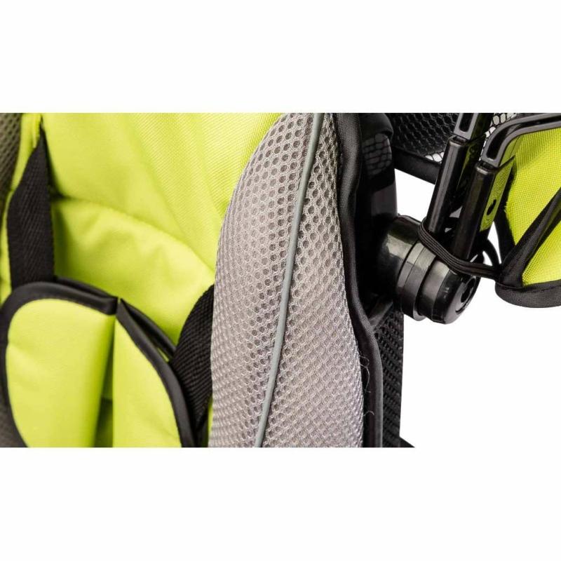 tricikli biztonsági övvel
