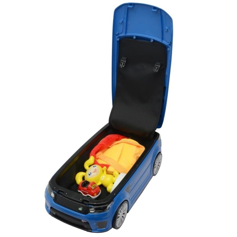 autó és bőrönd