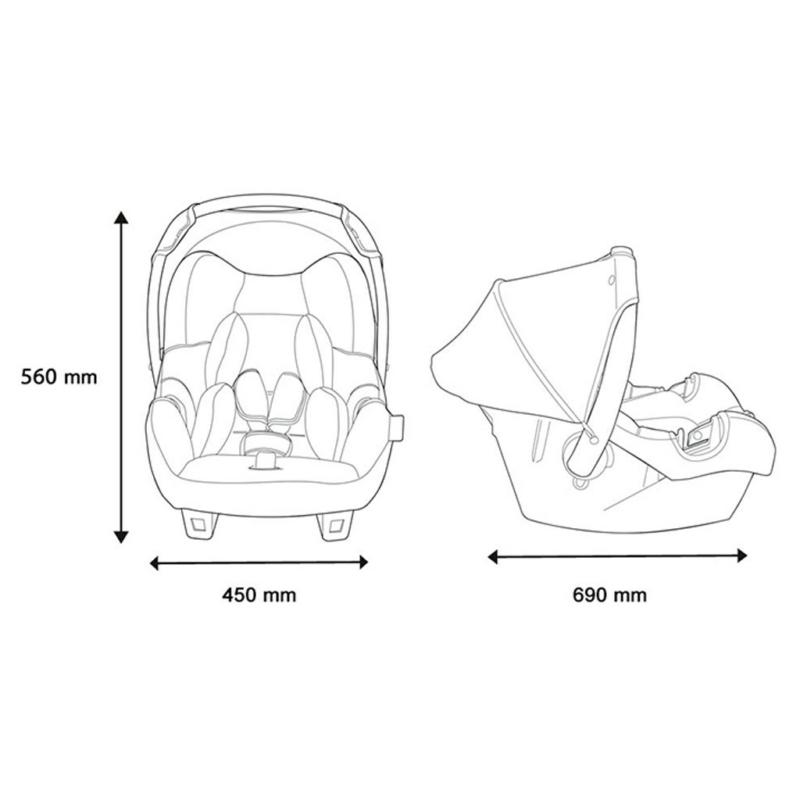 forgatható gyerek autós ülés