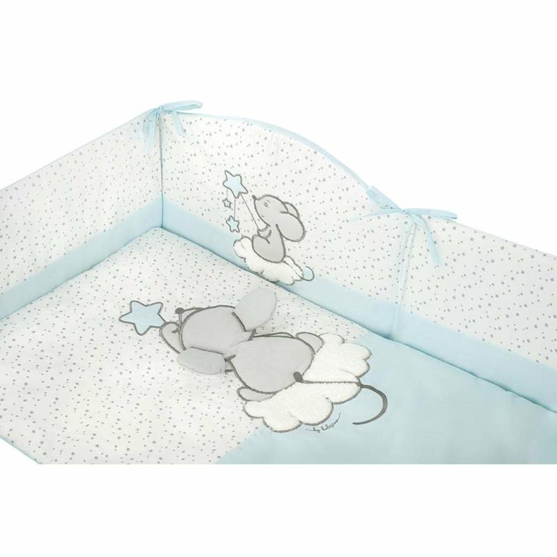 6 részes baba ágynemű garnitúra